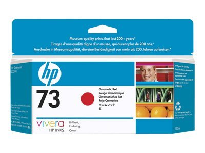 HP 73 130-ml Chromatic Red Ink Cartridge, CD951A, 9139121, Ink Cartridges & Ink Refill Kits