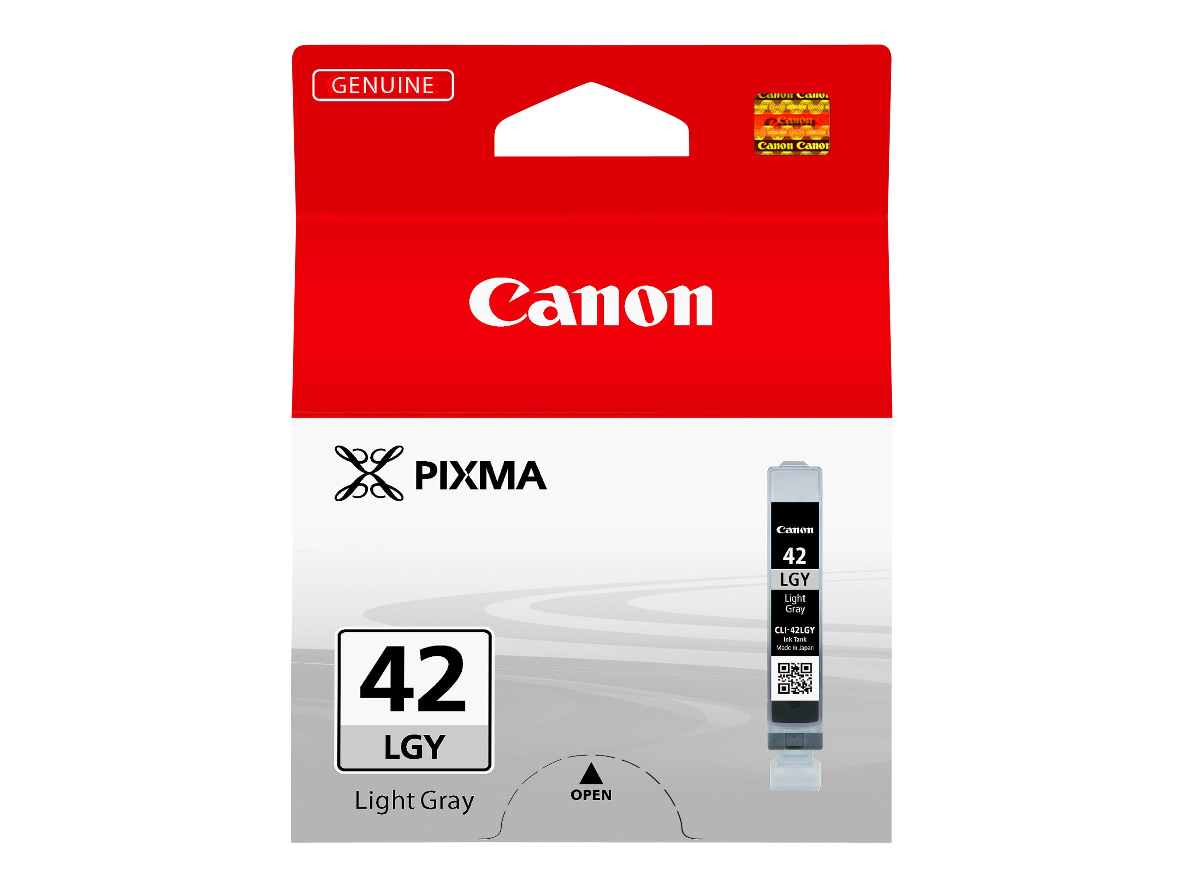 Canon Light Gray CLI-42LGY Ink Tank, 6391B002, 15229730, Ink Cartridges & Ink Refill Kits