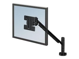 Fellowes Designer Suites Monitor Arm for Flat Panels up to 20lbs, 8038201, 9279415, Monitor & Display Accessories