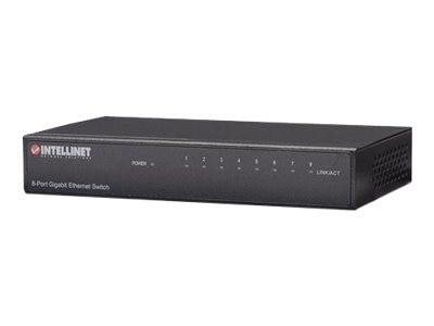 Intellinet 8-Port Gigabit Ethernet Switch