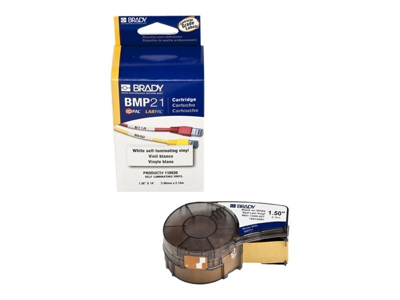 Brady 1.5 BMP21 Mobile Print Labels, M21-1500-427, 11908831, Paper, Labels & Other Print Media