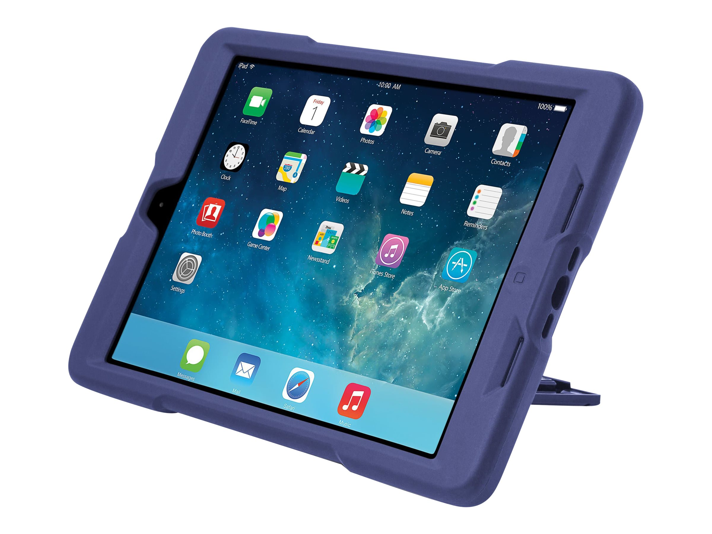 Kensington BlackBelt 2nd Degree Rugged Case for iPad Air, Plum
