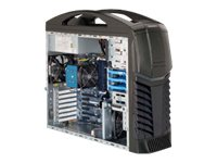 Supermicro Chassis, SuperChassis 732G MT Gaming ATX 3x3.5 HS Bays 2x.5.25 Bays 7xSlots 500W, Black, CSE-732G-500B, 16414996, Cases - Systems/Servers