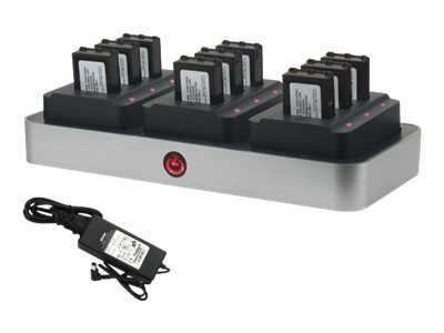 Zcover Unified Battery Multi-Charger Set for Polycom Spectralink Netlink, SK220U3B-NA