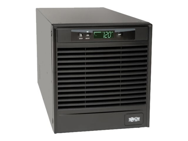 Tripp Lite SmartOnline 1.5kVA Online Double Conversion UPS, Tower, Interactive LCD, 120V (6) NEMA 5-15R Outlets, SU1500XLCD, 15611007, Battery Backup/UPS