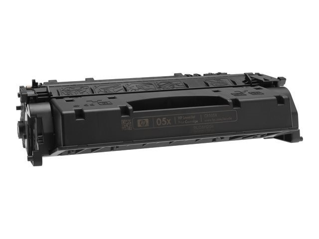 HP 05X (CE505X) High Yield Black Original LaserJet Toner Cartridge, CE505X