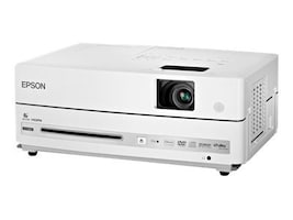 Epson PowerLite Presenter 3LCD Projector with DVD Player and Speakers, 2500 Lumens, V11H335120, 10554488, Projectors