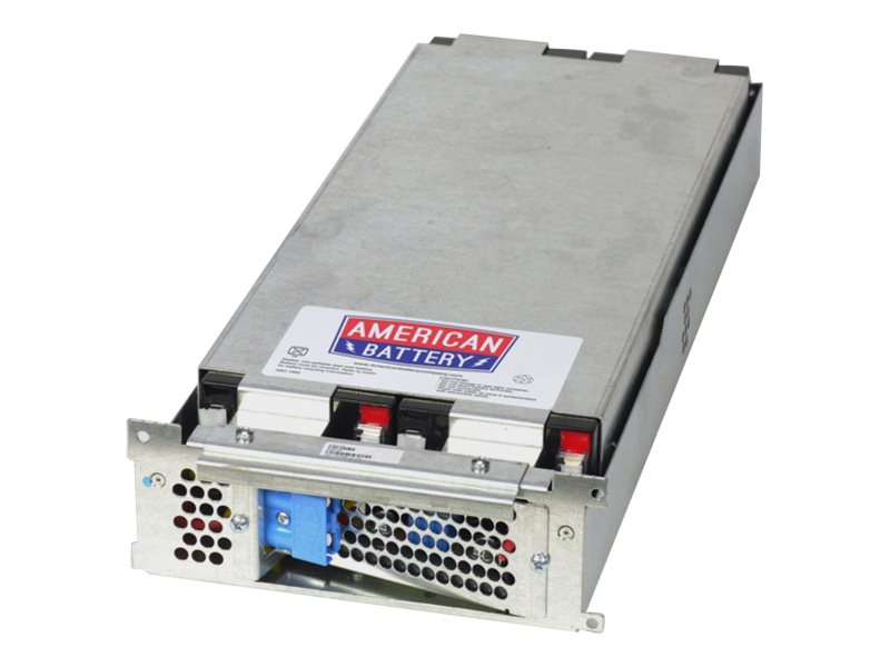 American Battery Replacement Battery Cartridge RBC43 for APC SUA2200RM, SUM1500RM 3000RM models