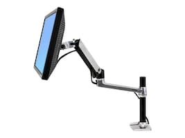 Ergotron LX Desk Mount LCD Arm with Tall Pole, 45-295-026, 13281622, Stands & Mounts - AV