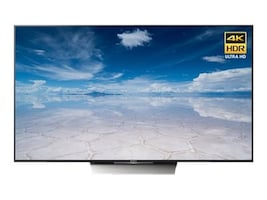 Sony 84.5 FWD85X850D 4K Ultra HD LED-LCD TV, Black, FWD85X850D, 33694475, Televisions - Commercial