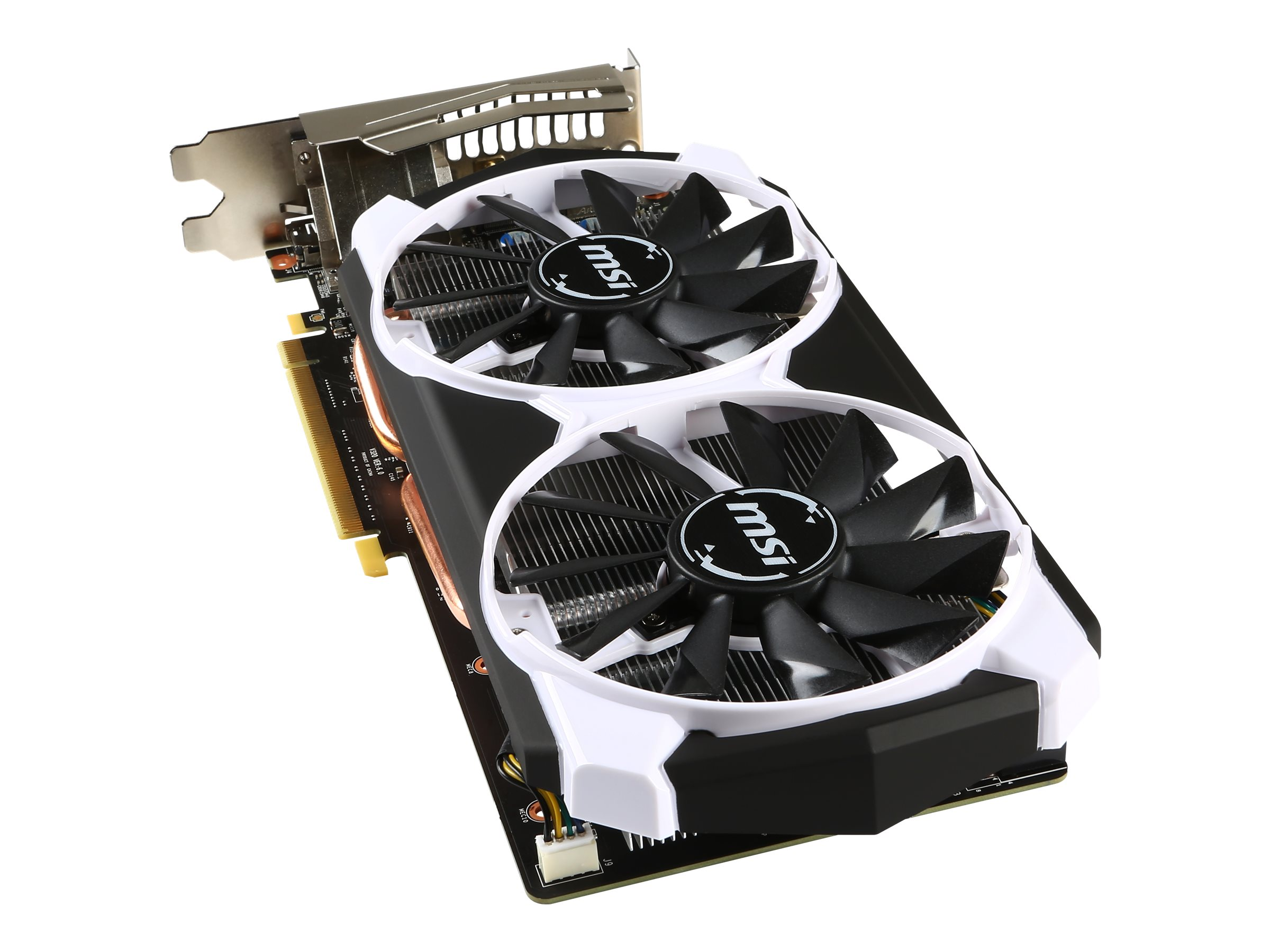 Microstar GeForce GTX960 PCIe Overclocked Graphics Card, 4GB GDDR5, GTX 960 4GD5T OC, 25486617, Graphics/Video Accelerators