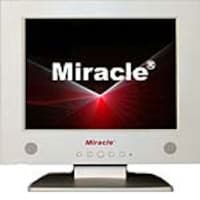 Miracle Business 10.4 LT10W Analog LCD Monitor, White, LT10W, 6588298, Monitors