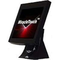 Miracle Business 12.1 MiracleTouch Touchscreen LCD Monitor, Serial Port, Black, LT12B-IS, 6588335, Monitors - LCD