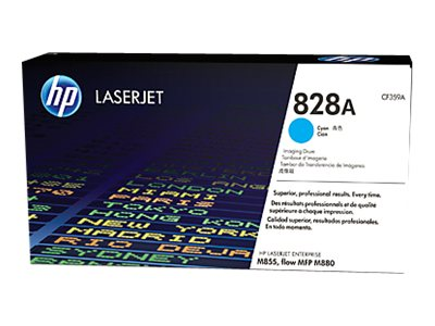 HP 828A Cyan LaserJet Imaging Drum for HP Color LaserJet Enterprise M855 Series, CF359A, 16433847, Toner and Imaging Components