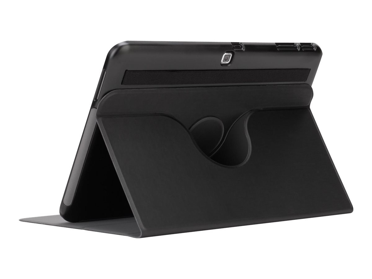 Targus Custom Fit Rotate Samsung Tab 4 10 10.1, Black, THZ556US