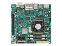 Supermicro Motherboard, Mini-ITX QM77 Core i7-3517UE 1.7GHz 4MB Max.16GB DDR3 6xSATA PCIe 4xGbE