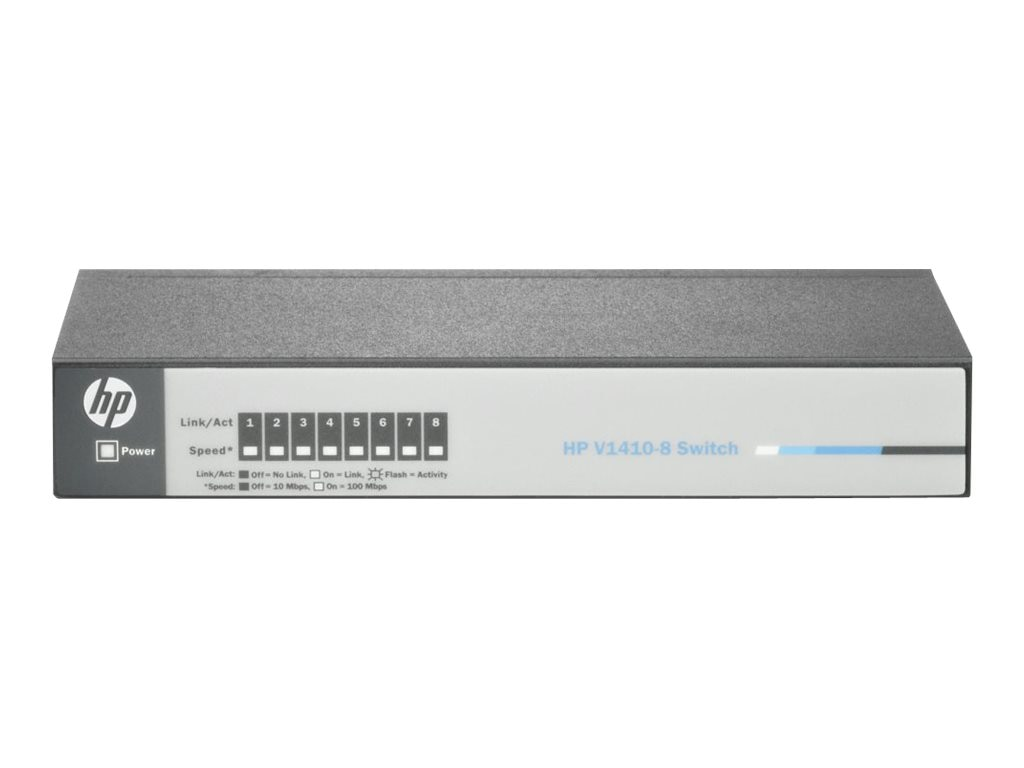 HPE V1410-8 10 100 Fast Ethernet Switch, J9661A#ABA