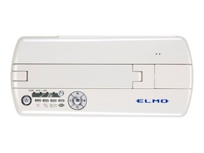 Elmo Manufacturing MO-1 Wireless Mobile Visual Presenter, White with VPR-1 Receiver Module, 1336-19, 16691782, Cameras - Document