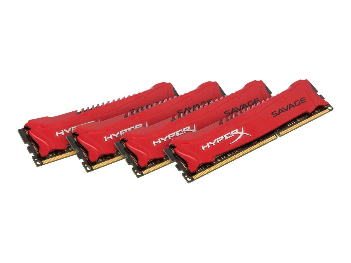 Kingston 32GB PC3-17000 240-pin DDR3 SDRAM DIMM Kit, HX321C11SRK4/32, 17757659, Memory