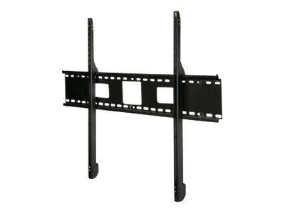 Peerless SmartMount Antimicrobial Universal Flat Wall Mount for 60-95 Displays, Black, SF680-AB, 13419185, Stands & Mounts - AV