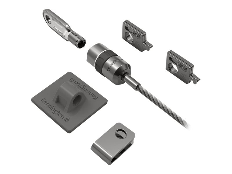 Kensington Locking Kit for Desktop and Peripherals, K64615US, 11055226, Security Hardware
