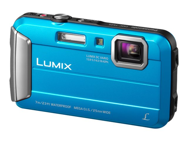 Panasonic DMC-TS25A Time Lapse Capture Camera - Blue, DMC-TS25A, 15500294, Cameras - Digital - Point & Shoot