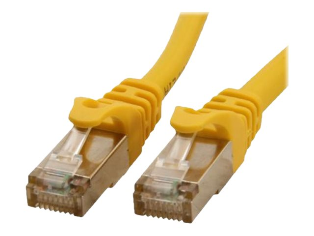 Rosewill Cat6a Shielded SSTP Ethernet Cable, Yellow, 3ft, RCNC-12034, 21566020, Cables