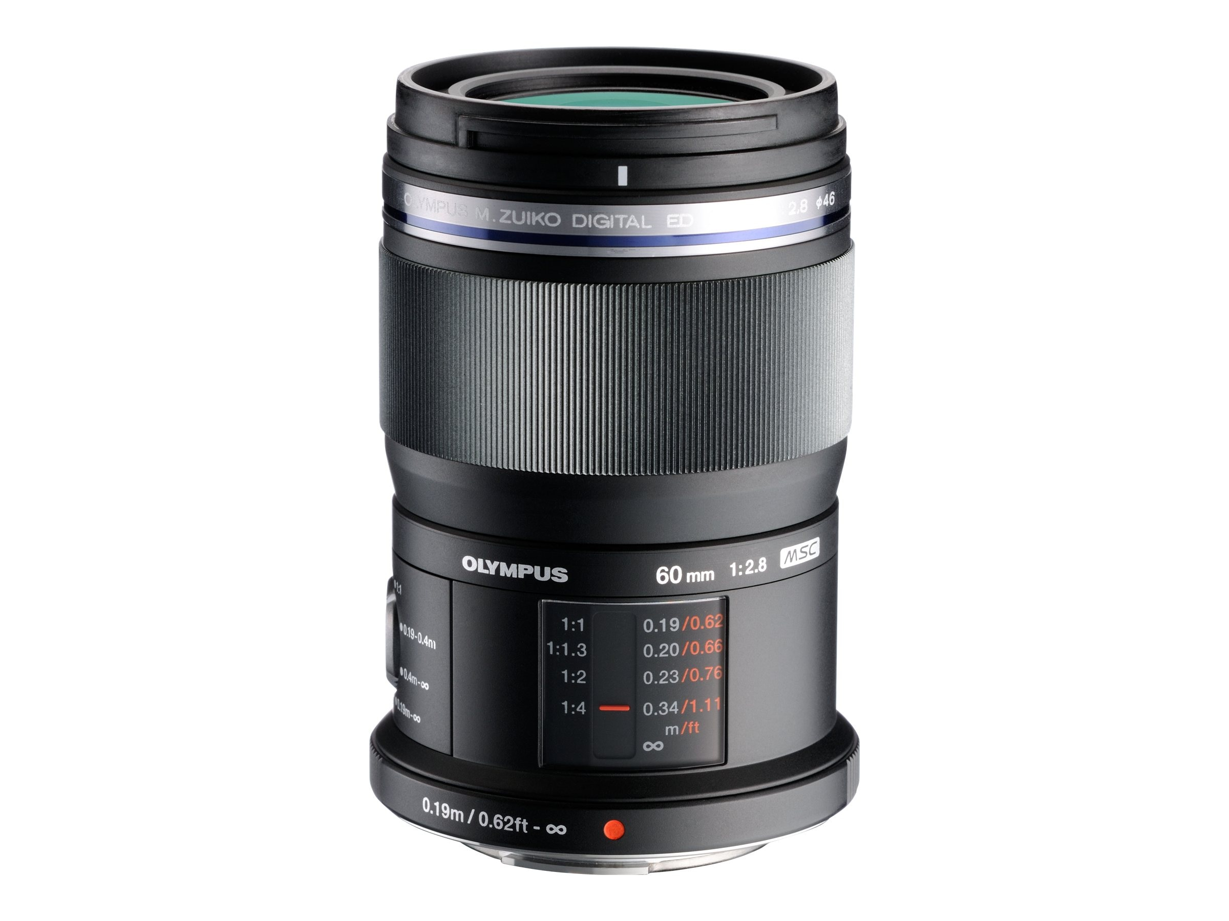 Olympus M.Zuiko Digital ED 60mm f 2.8 Macro Lens, V312010BU000, 14870091, Camera & Camcorder Lenses & Filters