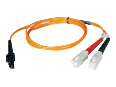 Tripp Lite MTRJ-SC 62.5 125 OM1 Multimode Duplex Fiber Cable, Orange, 5m, N310-05M, 31605264, Cables