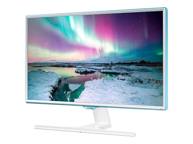Samsung 27 SE370 Full HD LED Monitor with Wireless Charging, White, LS27E370DS/ZA