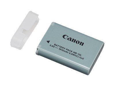Canon NB-12L Lithium-Ion 3.6V, 1910mAh Battery Pack for PowerShot N100 Digital Camera, 9426B001, 16747969, Batteries - Camera