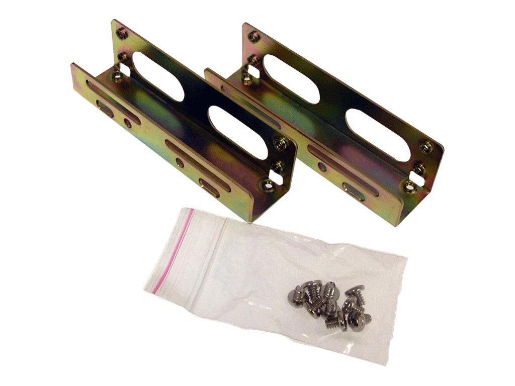 Addonics 5 1 4 Drive Bay Mounting Bracket for 3.5 Hard Drive