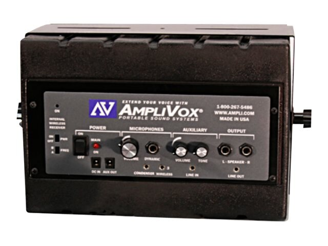 AmpliVox Portable Sound Systems SW1230 Image 3