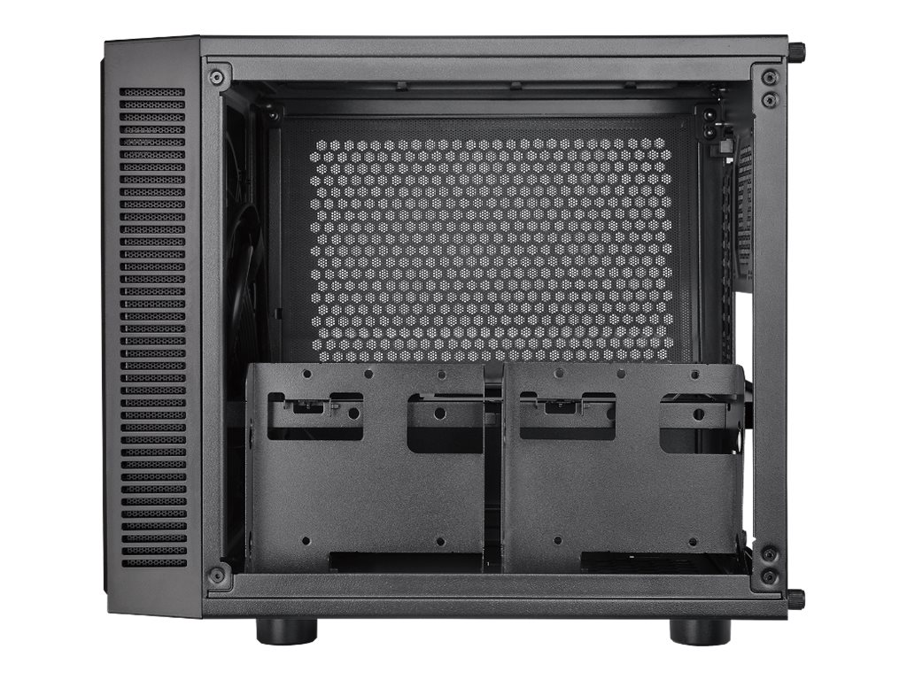 Thermaltake Chassis, Suppressor F1 Mini ITX Cube 2x2.5 Bays 2x3.5 Bays No PSU, Black