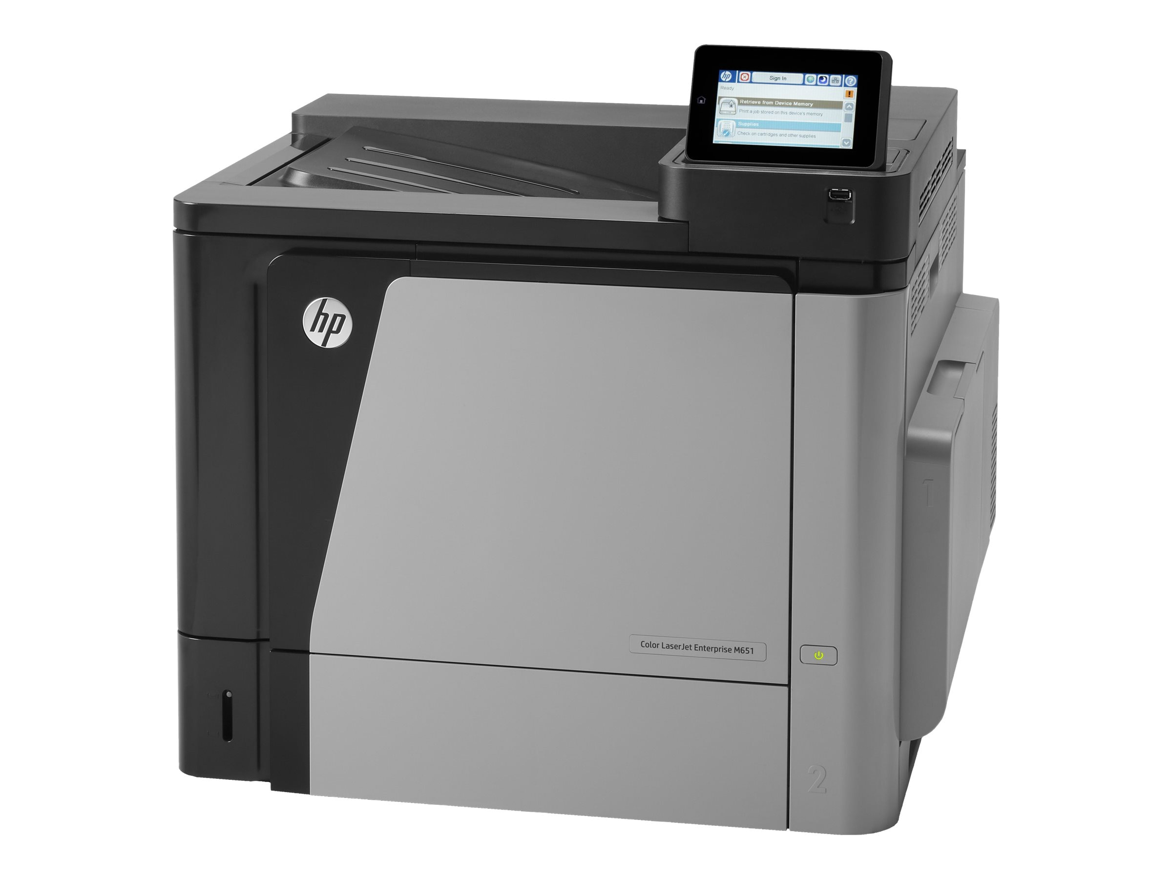 HP Color LaserJet Enterprise M651dn Printer (VPA)