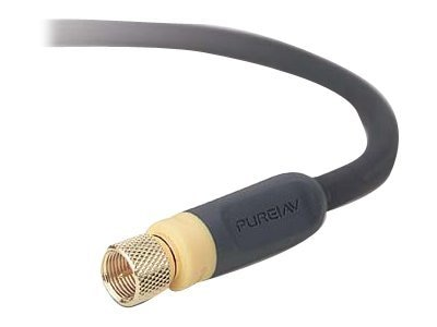 Belkin PureAV RF Coaxial Video Cable, F-Pin, 6 ft, AV21300-06