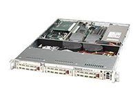 Supermicro Chassis, 1U, Rackmount, Dual Xeon, SC812i-420, EATX, 3 IDE, Beige, 420W, Sm MB Only, CSE-812I-420, 5577909, Cases - Systems/Servers