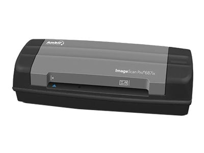 Ambir ImageScan Pro 687ix with AmbirScan