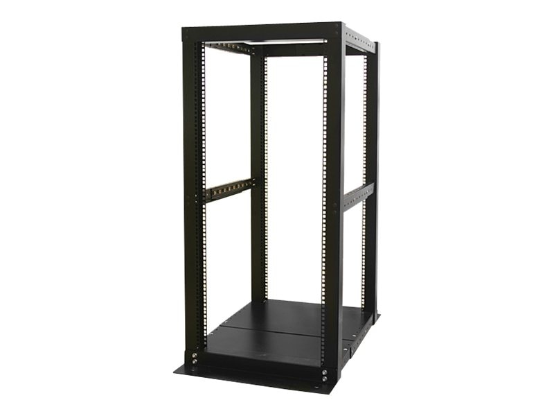 StarTech.com 4-Post Server Open Frame Rack Cabinet, 25U, 4POSTRACK25, 7495675, Racks & Cabinets
