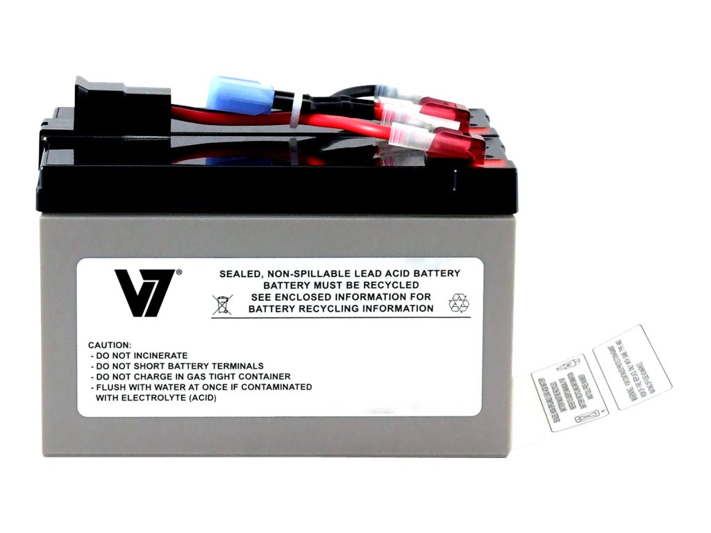 V7 Replacement UPS Battery for APC # RBC48