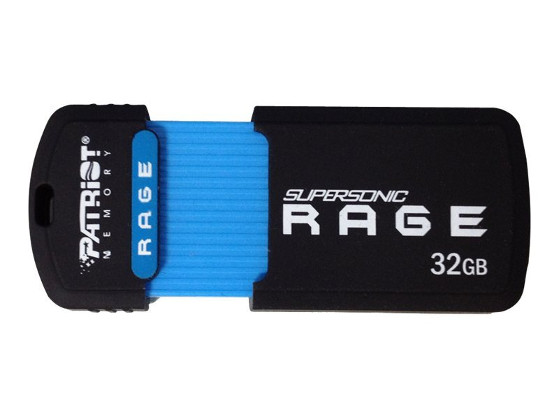 Patriot Memory 32GB Supersonic Rage XT USB 3.0 Flash Drive, PEF32GSRUSB