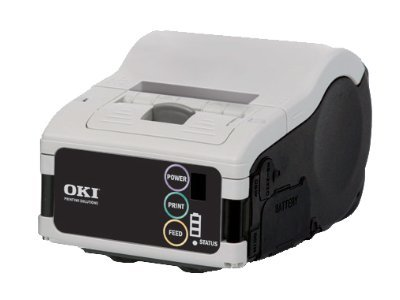 Oki LP441b Bluetooth Mobile Label Printer, 62306302, 11531721, Printers - Label
