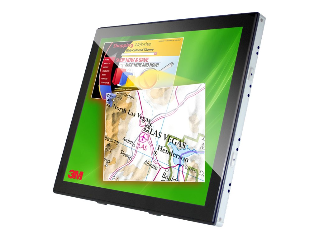 3M 15 C1510PS Touchscreen LCD Monitor, 98-0003-4096-2, 14624244, Monitors - LCD