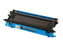 Ereplacements TN210C Cyan Toner Cartridge for Brother, TN210C-ER, 18373850, Toner and Imaging Components