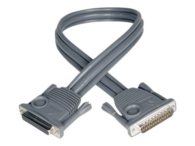 Tripp Lite Daisychain Cable for 16-Port KVM Switch, DB25 (M) to DB25 (F), 15ft, P772-015, 7145780, Cables