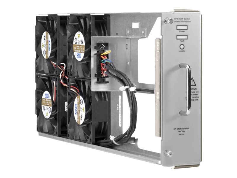 HPE Fan Tray for 5406R ZL2 Switch, J9831A, 17439765, Cooling Systems/Fans