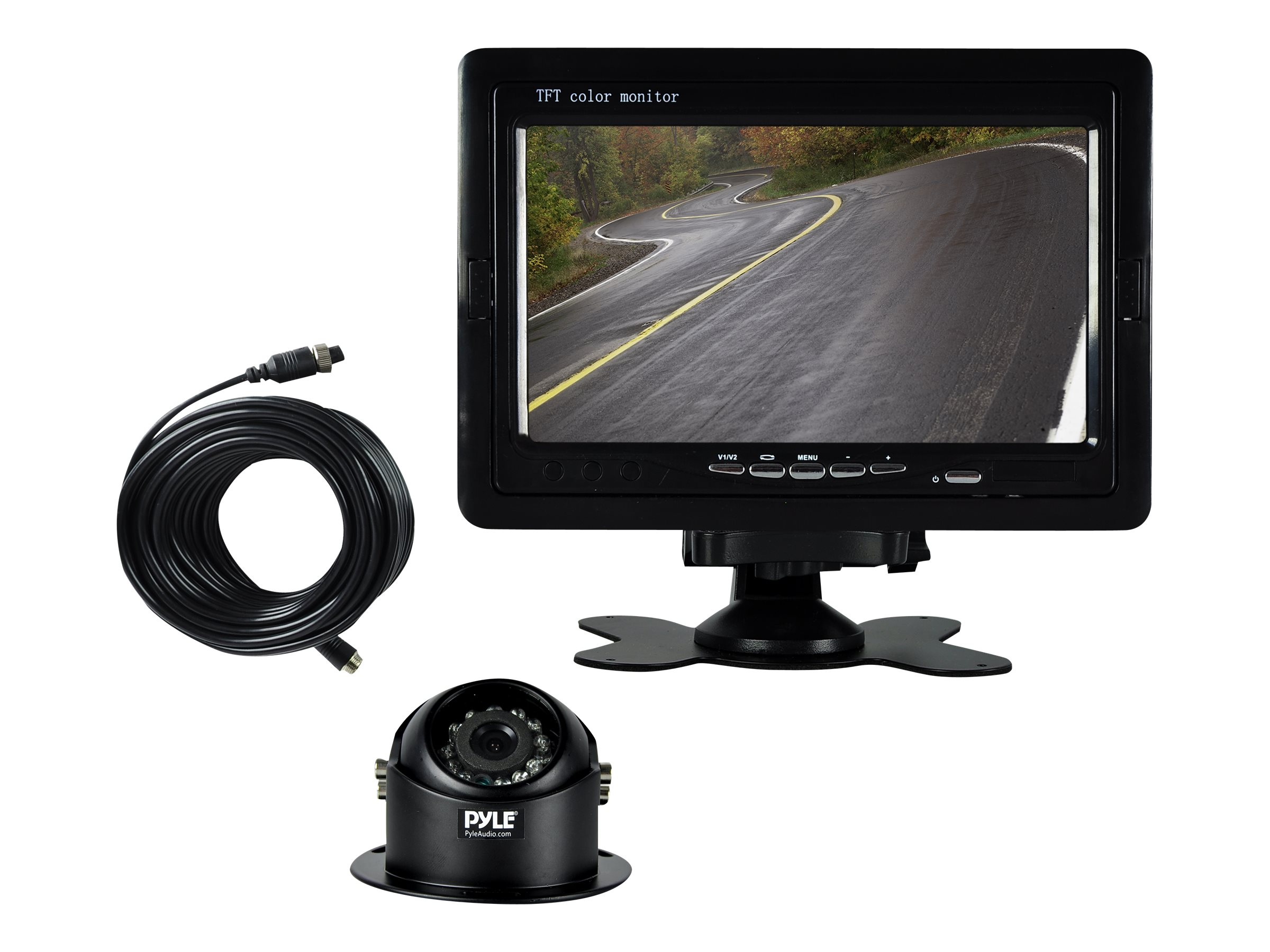 Pyle Rearview Backup Camera & Video Monitor System Kit 7, PLCMTR70