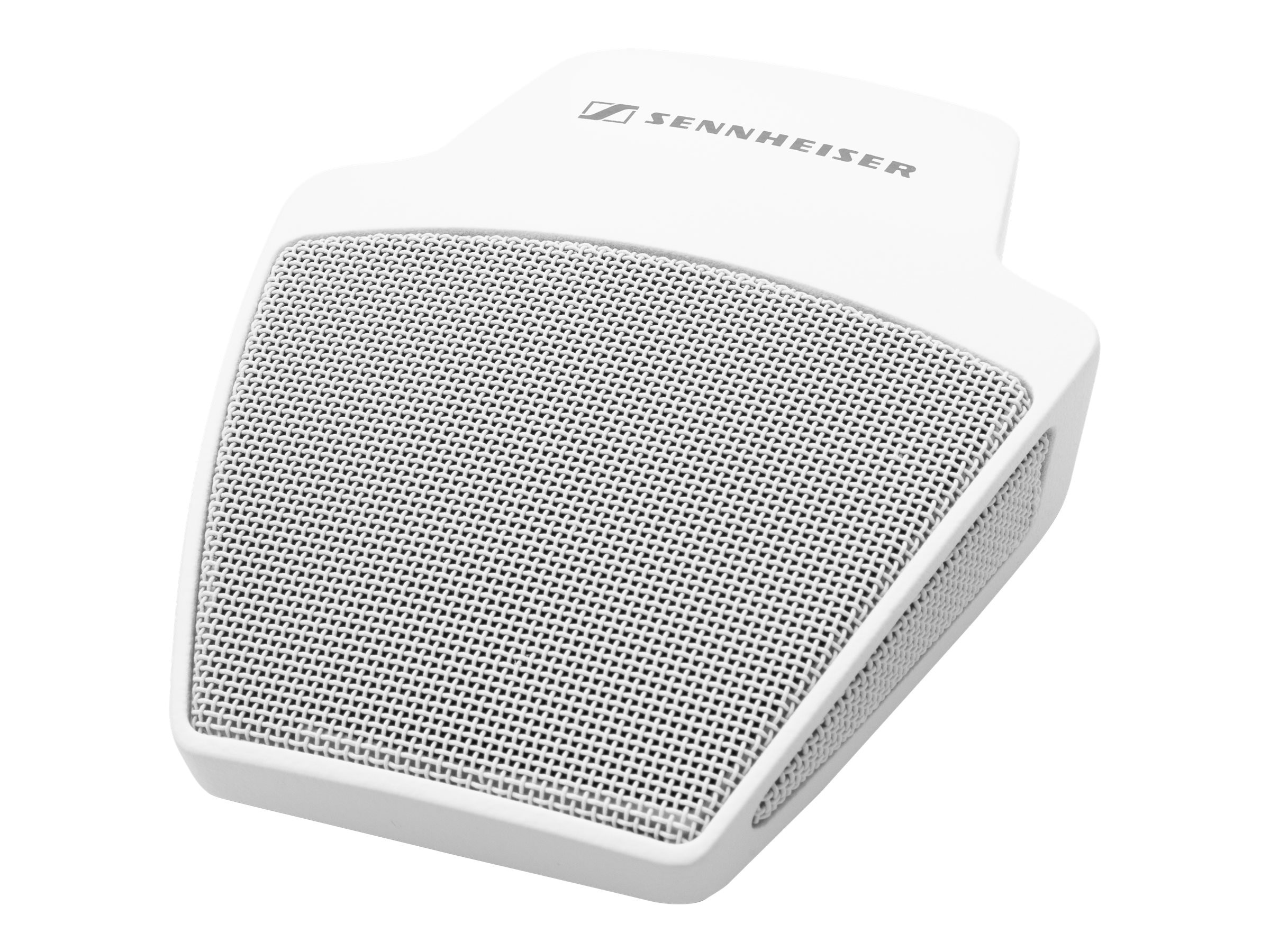 Sennheiser SpeechLine Wired Microphone Cardioid On-Table Boundary Mic, White, 505613
