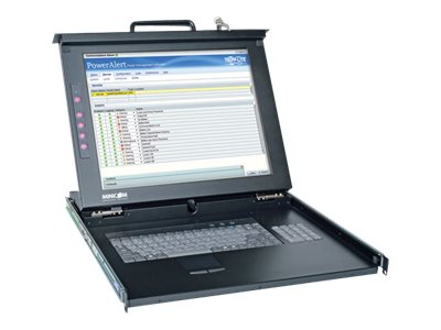 Tripp Lite 17 LCD Console 1U Rackmount USB PS 2, Black, 0SU52088, 16772304, KVM Displays & Accessories