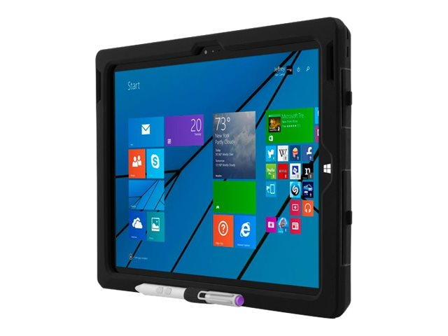 Incipio Capture for Surface Pro 3, Black, MRSF-072-BLK, 17647960, Carrying Cases - Tablets & eReaders